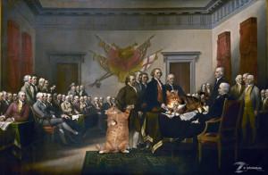 John Trumbull, Declaration of Independence