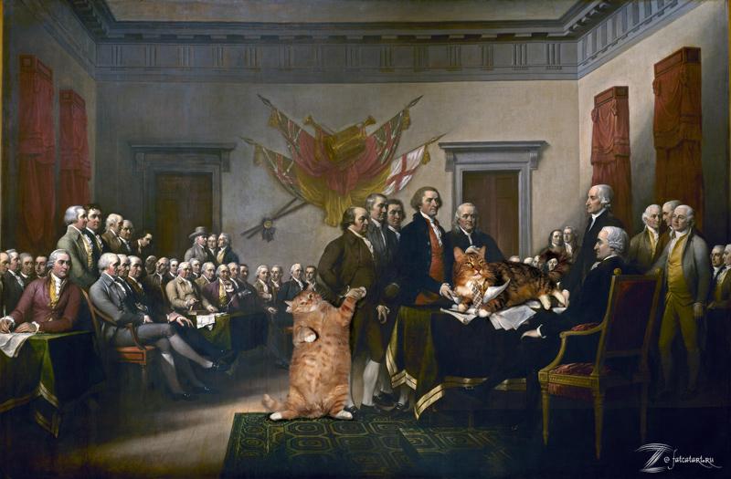 Джон Трамбулл, Декларация независимости