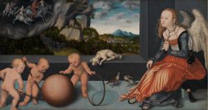 Lucas Cranach the Elder (c. 1472-1553), Melancholy, 1532, SMK
