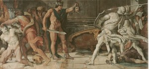 640px-Perseus_and_Phineas_-_Annibale_Carracci_and_Domenichino_-_1597_-_Farnese_Gallery,_Rome