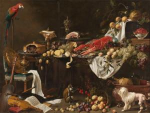 Адриан ван Утрехт, То же самое, но без кота, 1644