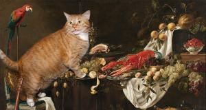 Adriaen-van-Utrecht-Stlll-life-cat-min