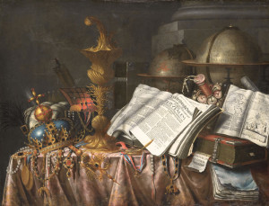 Edwaert Collier, Vanitas: commonly known version