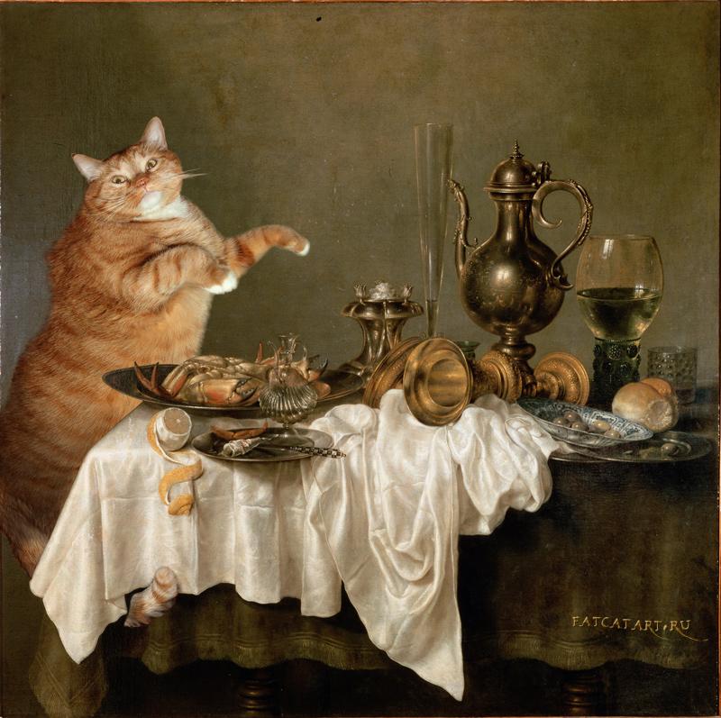 Виллем Клас Хеда, Завтрак с крабом. Котэ и крабэ. 1648