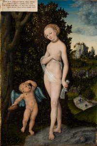 Лукас Кранах Старший, Венера и Амур - воришка меда