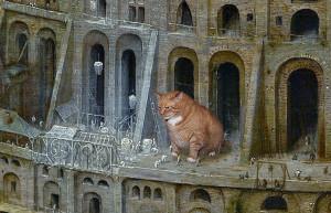 Pieter Bruegel the Elder, The Tower of Babel, detail--2
