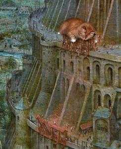Pieter Bruegel the Elder, The Tower of Babel, detail--7