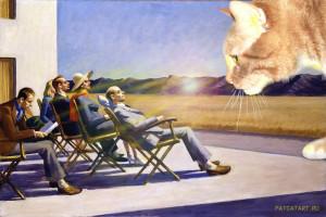 Эдвард Хоппер, Люди на солнце, 1960