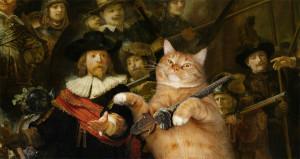 Rembrandt__Nachtwacht-cat-min