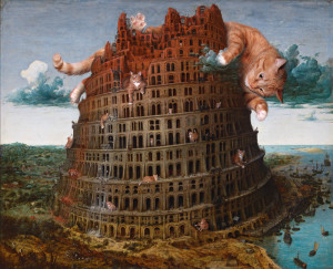 Bruegel-Tour-of-Babel-cat-sm1