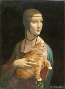 Leonardo-da-Vinci_-Lady-with-an-Ermine-cat-w13