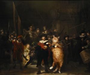 Rembrandt_Nightwatch-cat-w1