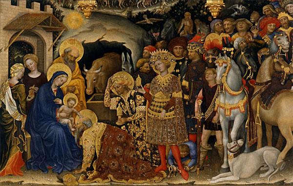 Gentile da Fabriano, The Adoration of the Magi, 1423