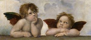sistine angels
