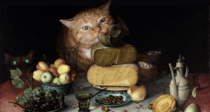 Floris-van-Dijck-Still-Life-with-Cheeses-and-Cats_min