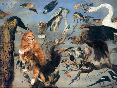 Frans Snyders, The Cat's Concert