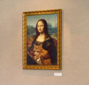 """Принт """"Мона Лиза. Подлинная версия"""" в ЮАР"""