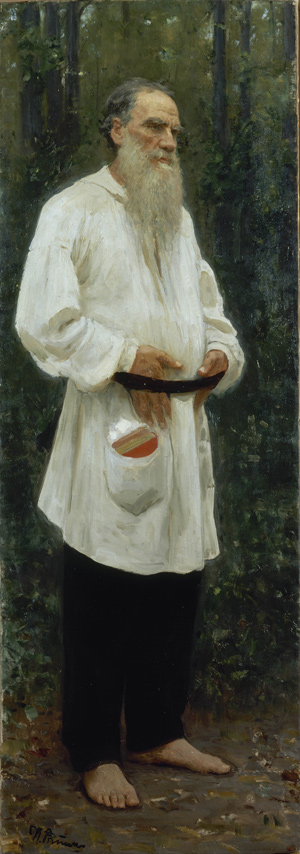 Ilya_Repin_-_Leo_Tolstoy_Barefoot_-w