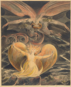 William Blake, The Great Red Dragon and the Woman Clothed with the Sun