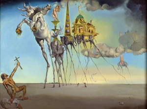 Salvador Dali, The Temptation of St. Anthony, the one he could resist.