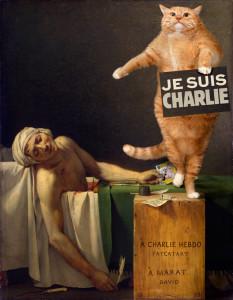 Жак-Луи Давид, Смерть Марата,или Je suis Charlie