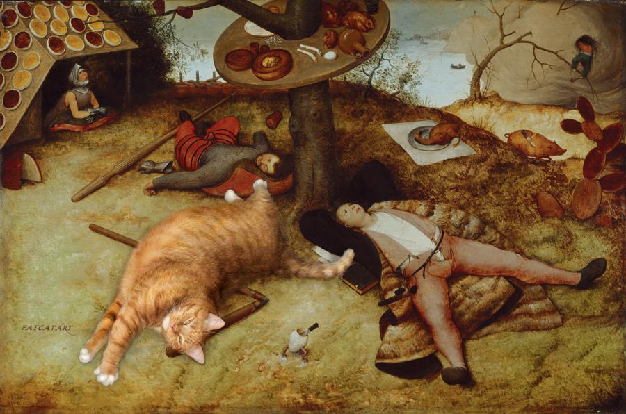 Pieter Bruegel the Elder, The Land of Cockaigne