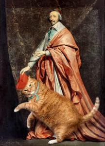 Филипп де Шампень, Портрет кардинала Ришелье с котом