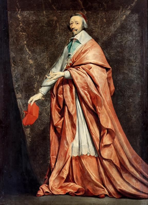 Philippe de Champaigne, Portrait of Cardinal de Richelieu, Louvre