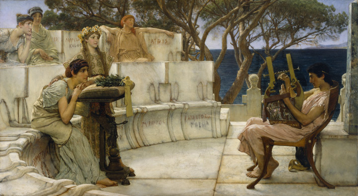 Sir_Lawrence_Alma-Tadema,_RA,_OM_-_Sappho_and_Alcaeus_-_Walters_w
