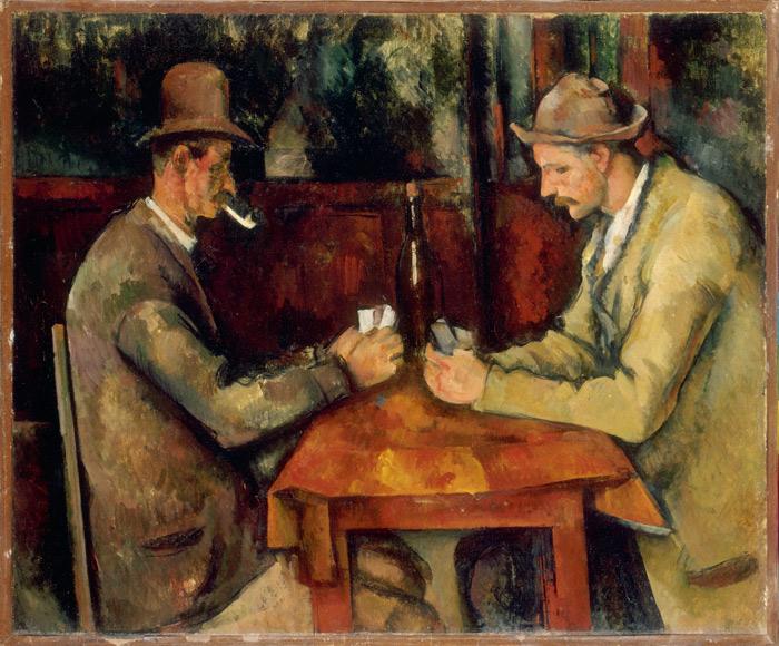 Поль Сезанн, «Игроки в карты», из коллекции Музея Орсе