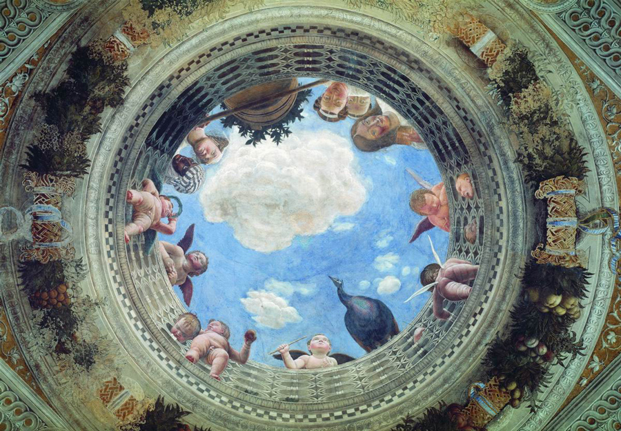 Andrea Mantegna, Oculus, commonly known version