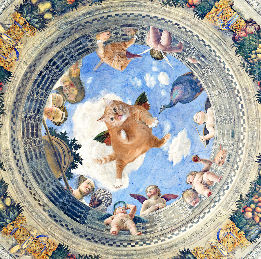 Andrea Mantegna, Oculus. In Search of Lost Time and Dinner