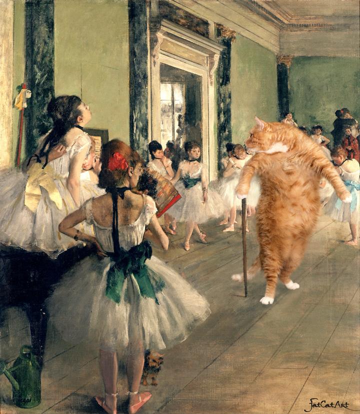 Эдгар Дега, Урок танца. Разучиваем па-де-ша