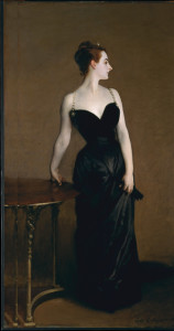 A version without a cat, Madame X (Madame Pierre Gautreau) from the Metropolitain Museum of Art collection