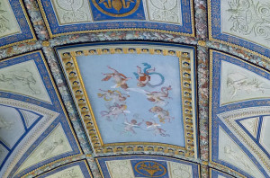 Vatican Museum ceiling fresco