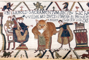 The Bayeux Tapestry, true 23rd scene, 1070 AD
