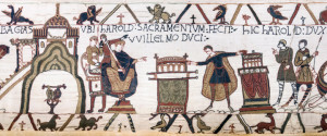 The Bayeux Tapestry, commonly known 23rd scene, 1070 AD