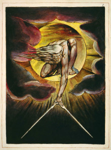 "William Blake, The Ancient of Days, from the book ""Europe a Prophecy»"