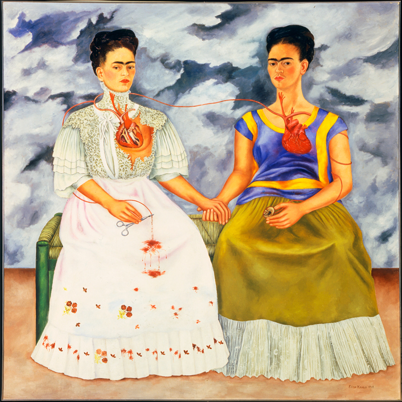 Frida Kahlo, Two Fridas, from the Museum of Modern Art Mexico collection