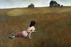 Andrew Wyeth, Christina's World, from MoMA collection