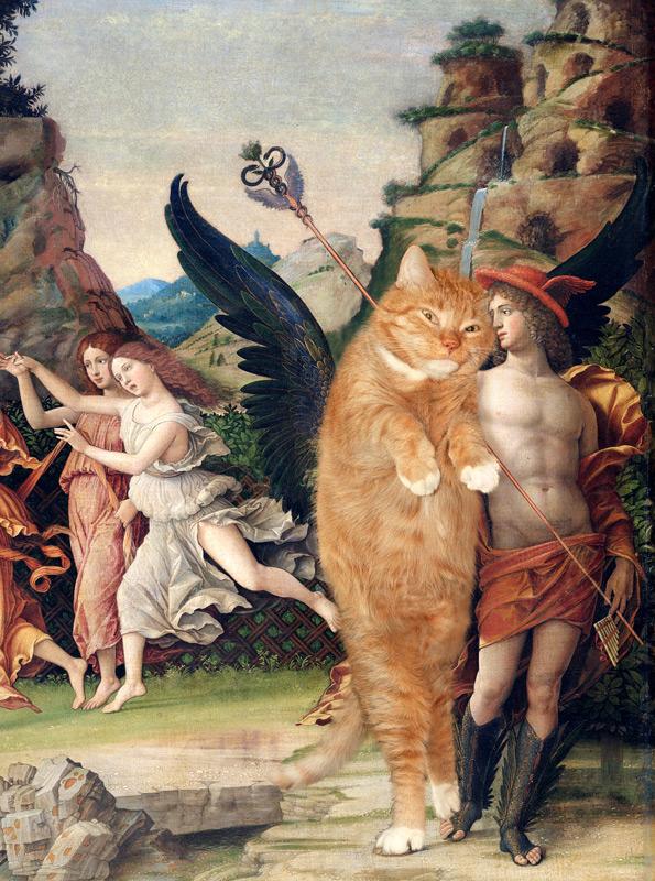 Меркурий беседует с котом Пегасом
