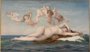 Alexandre Cabanel, The Birth of Venus, from  Musée d'Orsay, Paris