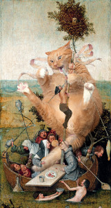 Hieronymus Bosch, The Ship of Fools, true version