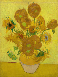 Vincent van Gogh, Sunflowers, a version from Van Gogh Museum
