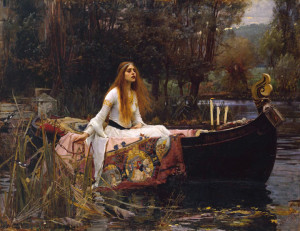 John William Waterhouse, The Lady of Shalott, from the Tate Gallery collection
