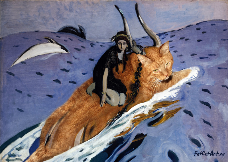 Valentin Serov, The Rape of Europa
