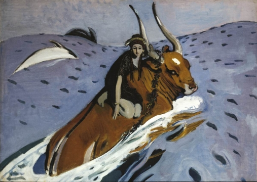 The Rape of Europa, from the Tretyakov Gallery collection