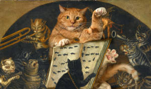 Lombard-School-Cats-being-instructed-in-the-art-of-mouse-catching-by-Zarathustra-min