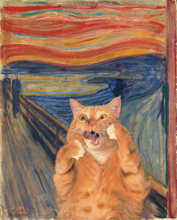 Edvard Munch, The Scream, or The Cream of the Scream