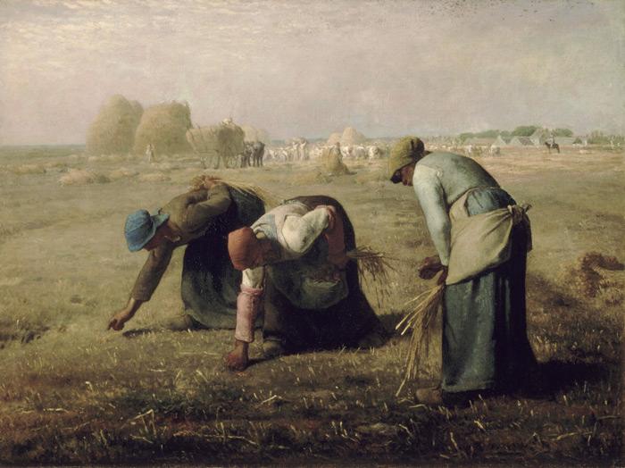 Жан-Франсуа Милле, Сборщицы колосьев, из коллекции Музея Орсэ